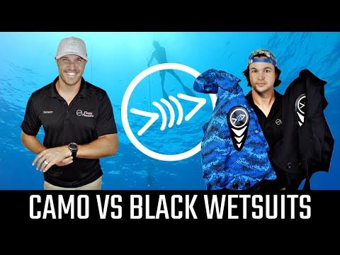 Camo Vs Black Wetsuits - Florida Freedivers