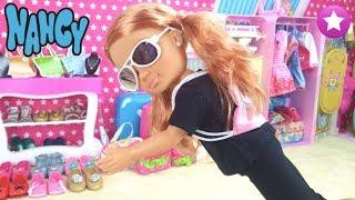 Muñeca NANCY Una ladrona roba en su habitación Historias con muñecas
