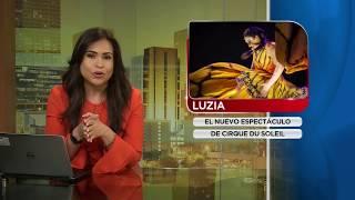 ENTREVISTA A MAJO CORNEJO - ESPECTACULO LUZIA CIRQUE DU SOLEIL