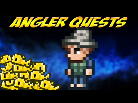 Terraria: ANGLER FISHING QUESTS [Highlight #6]