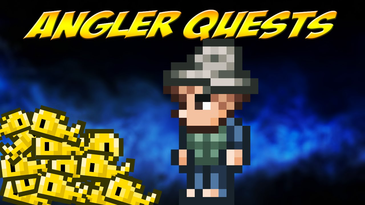 terraria angler fishing quests highlight 6 youtube