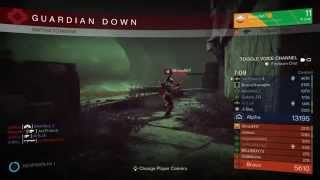 Destiny, control - Pantheon; 17 kill spree
