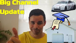 homepage tile video photo for Big Channel Update: Graduation, Move, New Job, and New Shop!