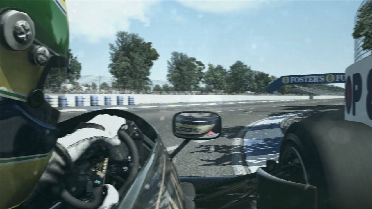 Assetto Corsa Vs Real Life Lotus 98t On Board Adelaide -