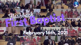 Flashback First Baptist: February 16th, 2021