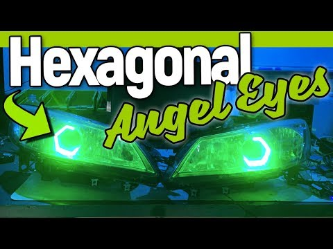 HEX Angel Eyes How To Install RX-8 | Circuit Demon | FlyRyde