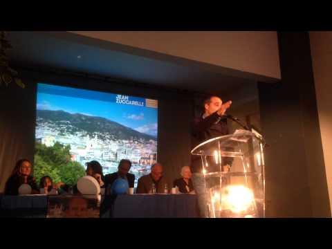 MEETING DE JEAN ZUCCARELLI 28 MARS 2014: DISCOURS D'ERIC FRATICELLI