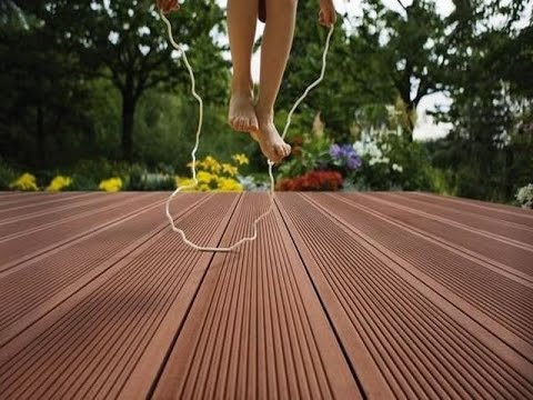 Composite decking around pool images in malaysia youtube for Composite decking pros and cons