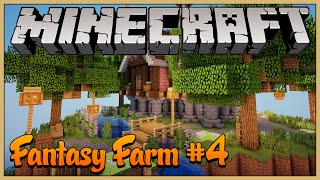 Minecraft Fantasy Farm #4: Decorando a Ilha da Casa!