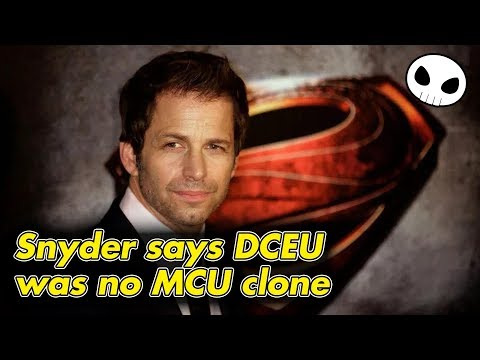 Zack Snyder claims DCEU was never meant to copy the MCU