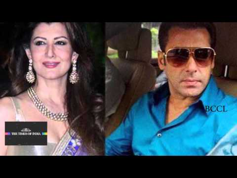 Salman Khan   Sangeeta Bijlani's PDA at Arpita's baby shower