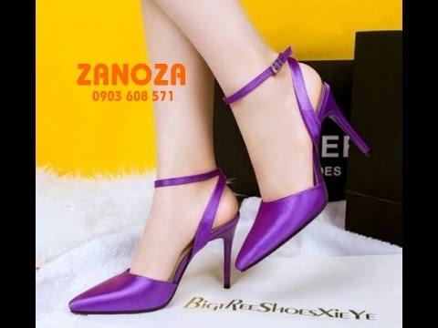ZANOZA SHOES | TOP những mẩu giày cao gót đẹp nhất 2015