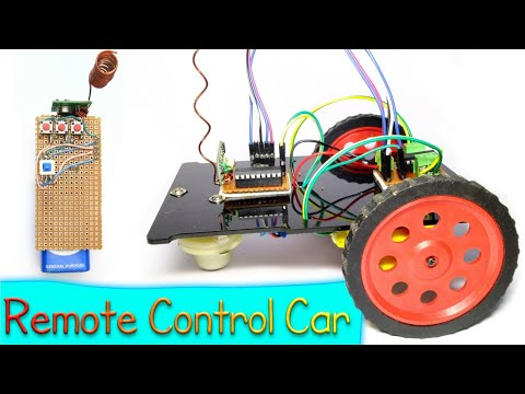 Remote Control Car || Project Wireless || By Es Tech Knowledge