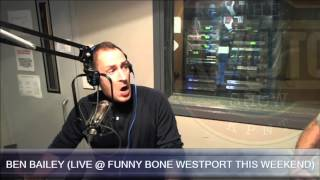 Ben Bailey talks Cash Cab, stand up comedy, & music on the Rizzuto Show - Part 2