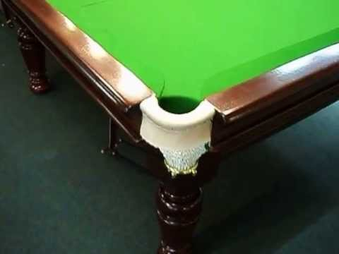 10 x 5 antique billiard snooker table by baize craft for 10 x 5 snooker table