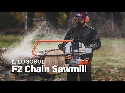 Logosol F2 Farmer's Chainsaw Mill | LOGOSOL - YouTube