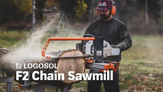 Logosol F2 Farmer's Chainsaw Mill