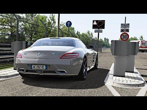 LUXURY HOTLAP #3 Nordschleife Tourist VS Mercedes SLS AMG