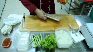 Готовим ролл Мацумото (Доставка суши от Панды)