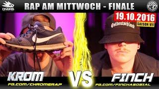 RAP AM MITTWOCH MÜNCHEN: KROM vs FINCH 19.10.16 BattleMania Finale (4/4) GERMAN BATTLE