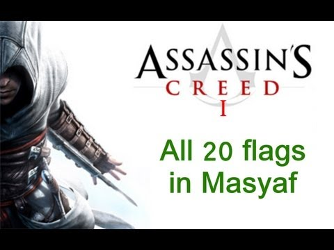 """""""Assassin's Creed 1"""", All 20 Assassins Flags Locations In Masyaf"""