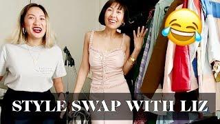 Style Swap With Liz Uy | Laureen Uy