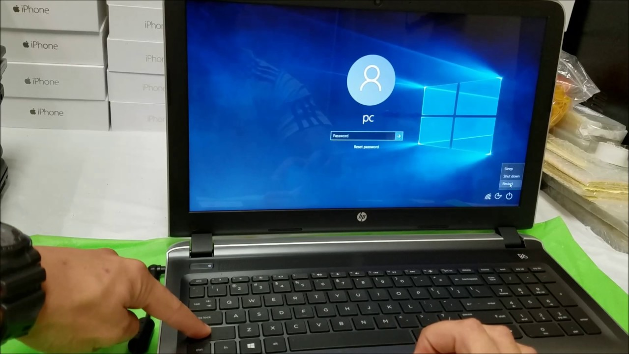 How to ║ Restore Reset a HP Pavilion to Factory Settings ║ Windows 13