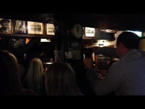 Irish Pub live music, Northern Irleand, October 2016 - 1.