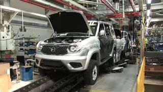 Ульяновский автомобильный завод передал УАЗ ПАТРИОТ хоспису