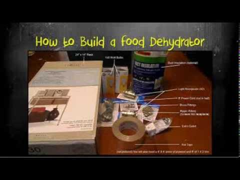 How To Build A Food Dehydrator Youtube