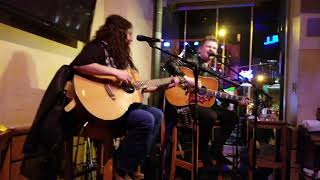 Luke Combs Hurricane performed by Landon Wall during #CRS2018 week at @Margaritaville in Nashville!