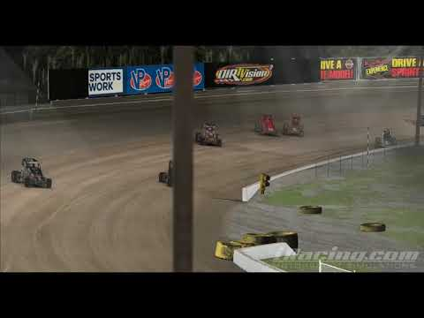 iRacing Dirt Midget Close win @ Volusia