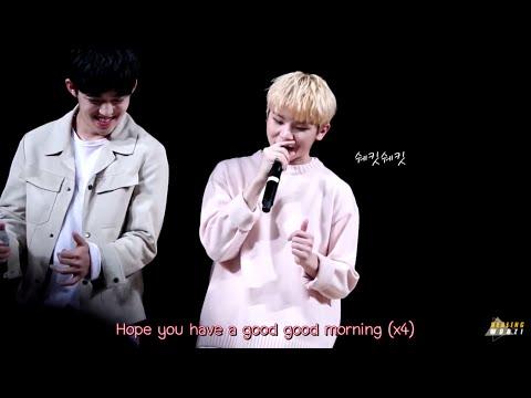 [Karaoke/Thaisub]151108 Good morning - Woozi X S.Coups