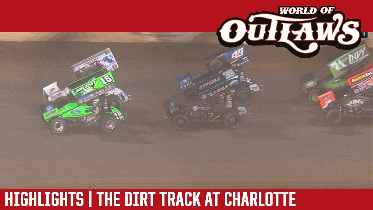 world-of-outlaws-craftsman-sprint-cars-the-dirt-track-at-charlotte-november-3-2018-highlights