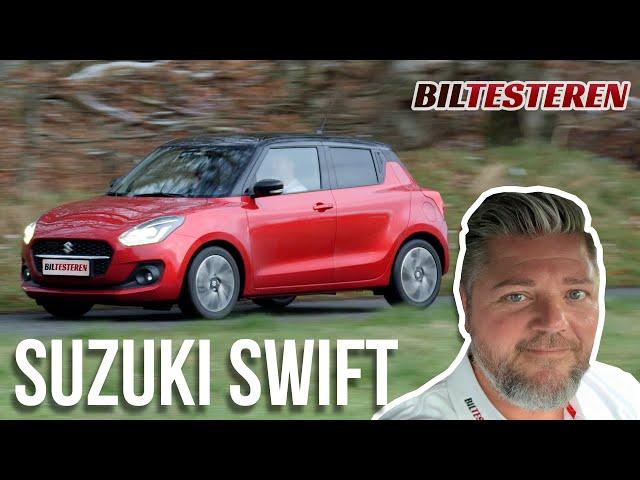 Masser af udstyr for pengene! Suzuki Swift (test)