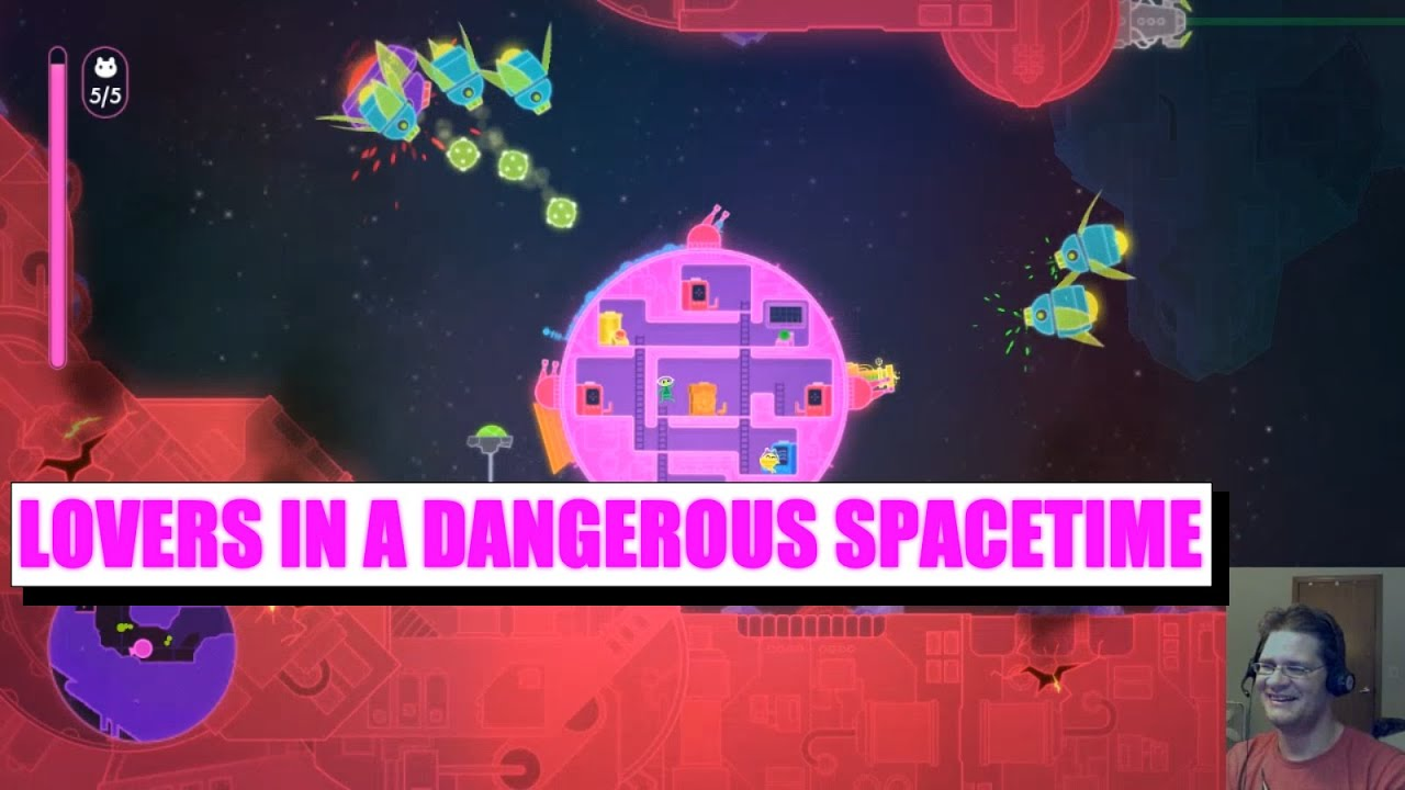Lovers In A Dangerous Spacetime Save The Universe With The Power