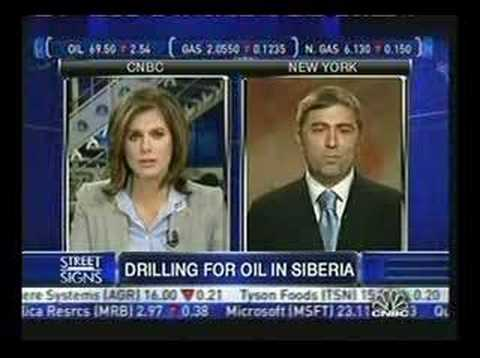 CNBC Interview with Siberian Energy Group