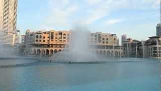 Dubai Down town Musical Fountain