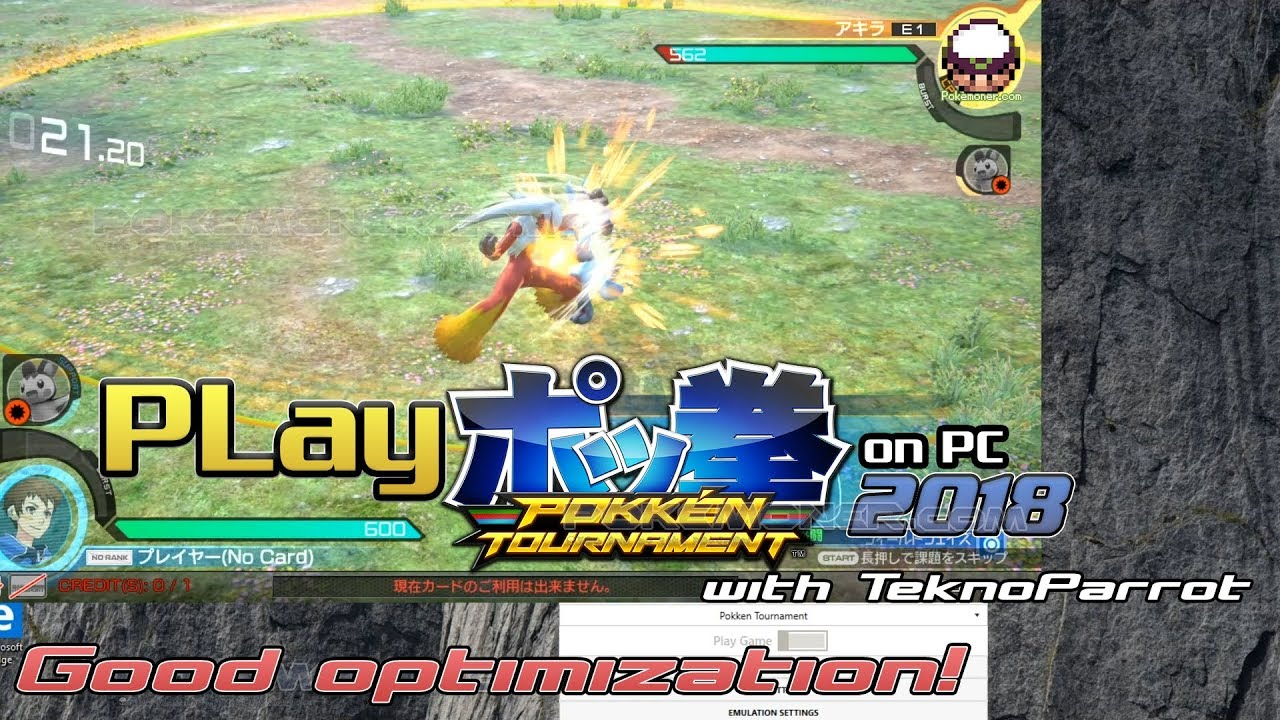 PC] Pokkén Tournament on PC with TeknoParrot - Arcade - Pokemoner com