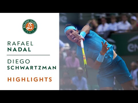 Rafael Nadal vs Diego Schwartzman - Quarter-Final Highlights I Roland-Garros 2018