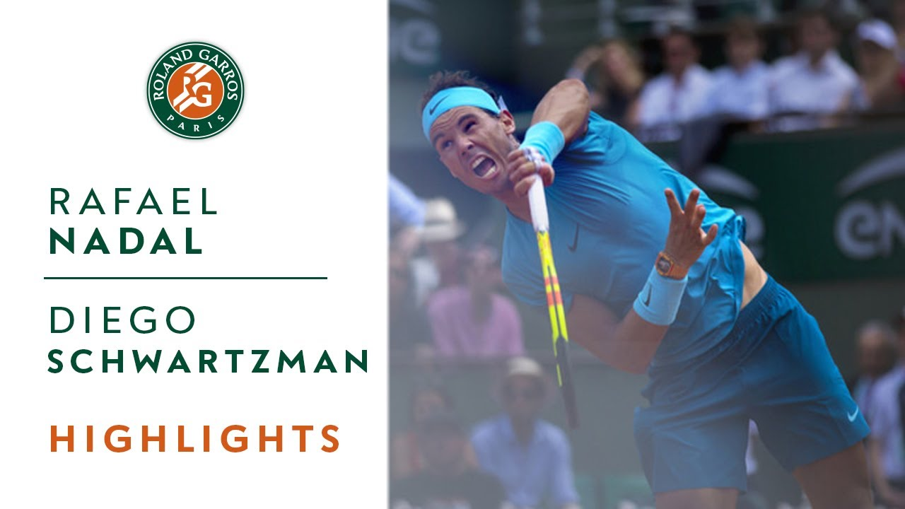 Rafael Nadal Vs Diego Schwartzman Quarter Final Highlights I Roland Garros 2018 Youtube