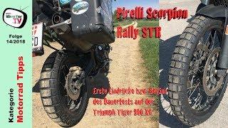 Pirelli Scorpion Rally STR | Erste Eindrücke | Beginn Dauertest