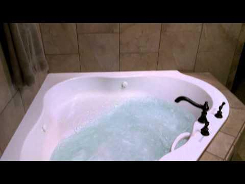 Bathroom Remodel American Standard Corner Tub