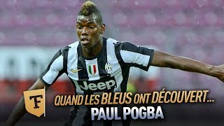 Champion du monde 2018 : Quand on a découvert Paul Pogba (Novembre 2012)