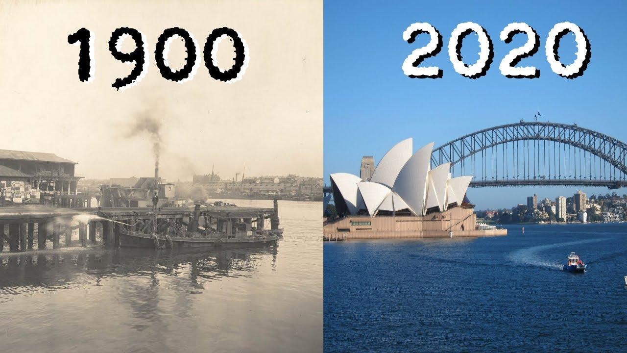 Evolution of Sydney 1900 - 2020 - YouTube