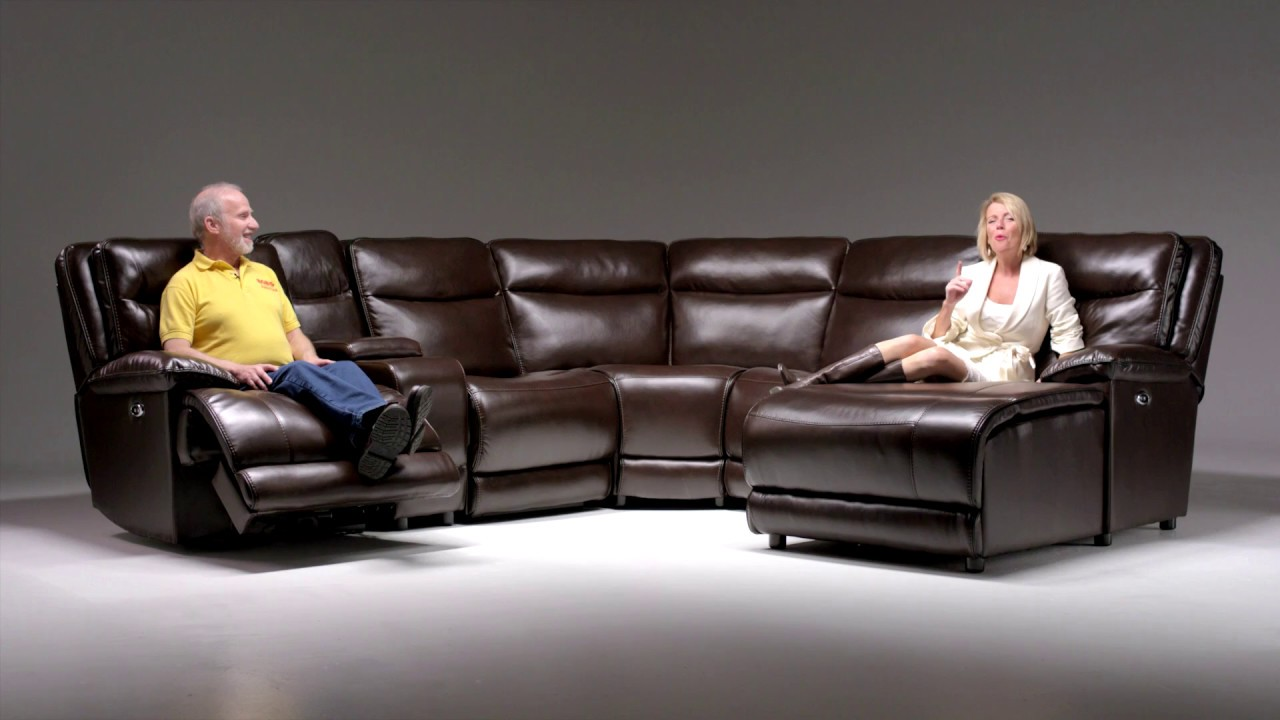 Supernova Power Reclining Sectional | Bobu0027s Discount Furniture - YouTube & Supernova Power Reclining Sectional | Bobu0027s Discount Furniture ... islam-shia.org