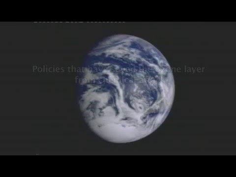 UNEP 40th Anniversary - Ozone layer