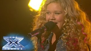 "Rion Paige ""Belongs"" On Stage - THE X FACTOR USA 2013"