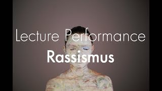 Lecture Performance by Magdalena Gaevert