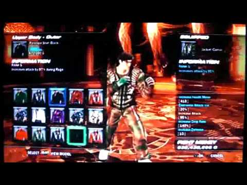 Tekken 6 Scenario Campaign Hard Stages With Rank S Items Item Selling For Gold Youtube